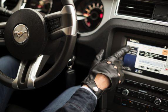 leren touchscreen handschoenen